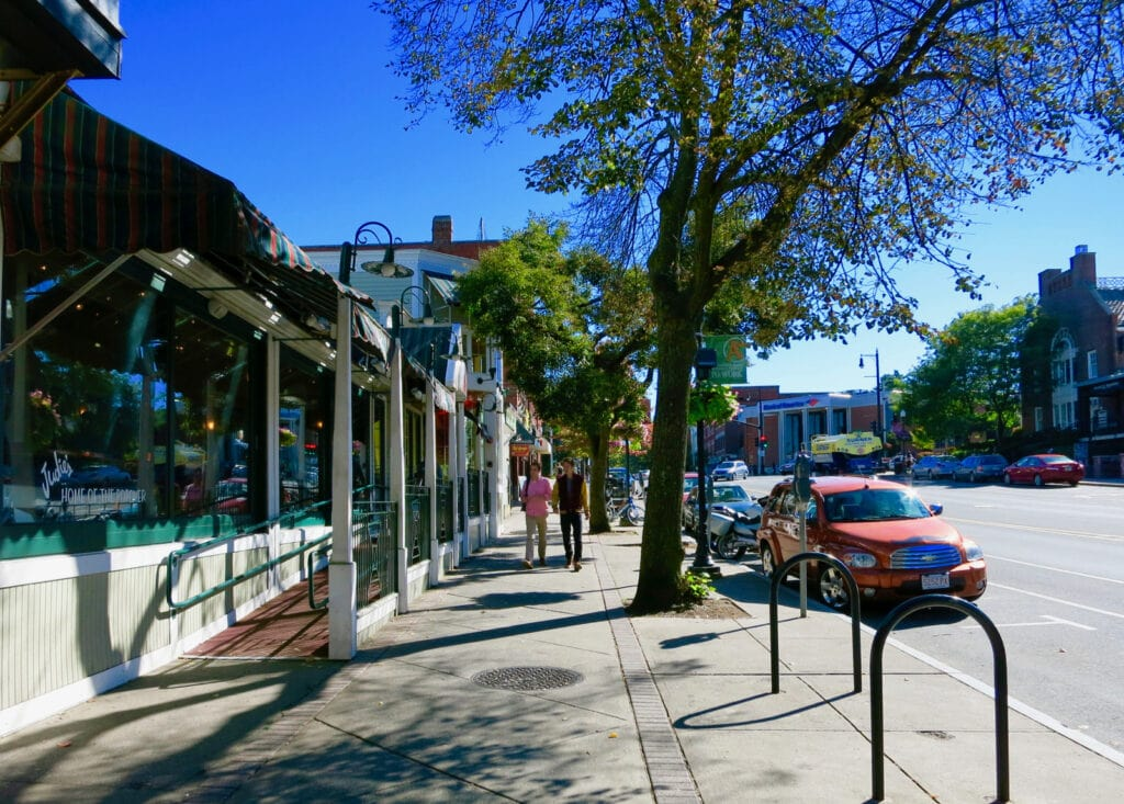 Downtown Amherst MA