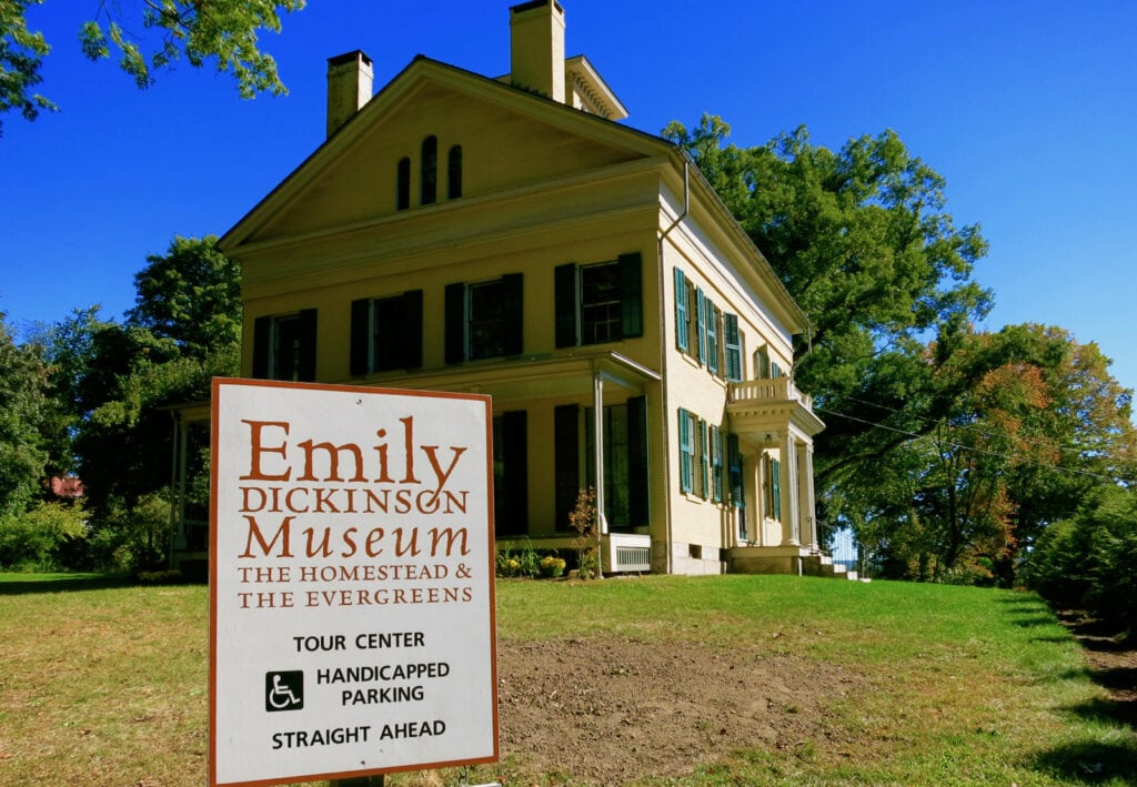 Emily Dickinson House and Museum Amherst MA