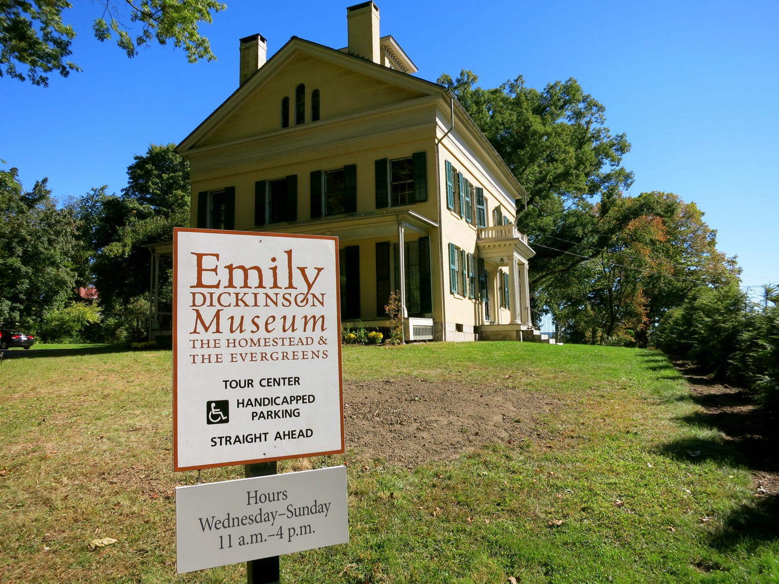 Emily Dickinson Museum Amherst MA