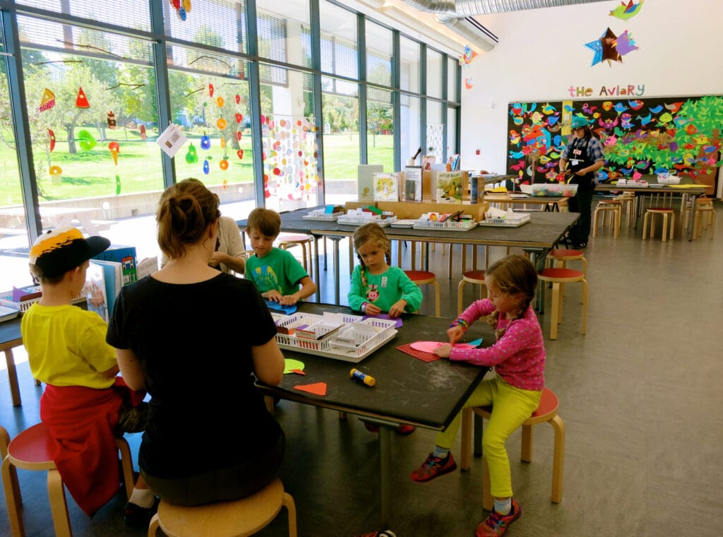 Eric Carle Museum Craft Room Amherst MA