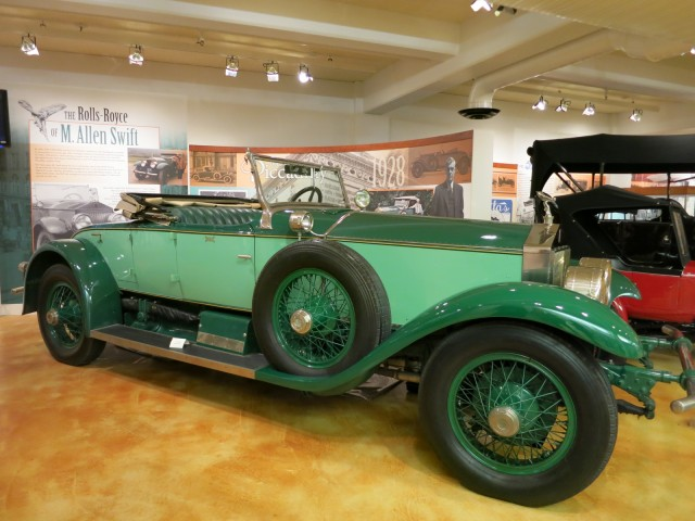 1928 Rolls Royce from Springfield MA Auto Plant, Museum of Springfield History
