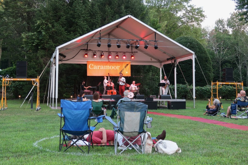 Lawn Concert Caramoor Bedford NY