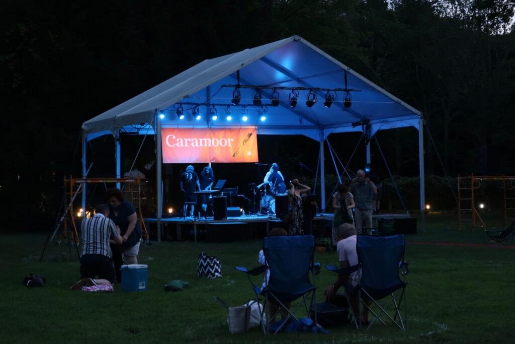 Caramoor lawn concert Bedford NY