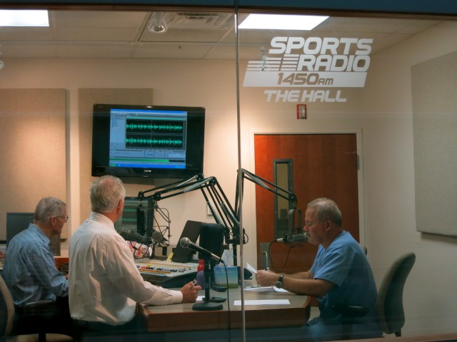 Watch Sport Radio 1450 broadcasting from Basetball Hall of Fame in Springfield MA