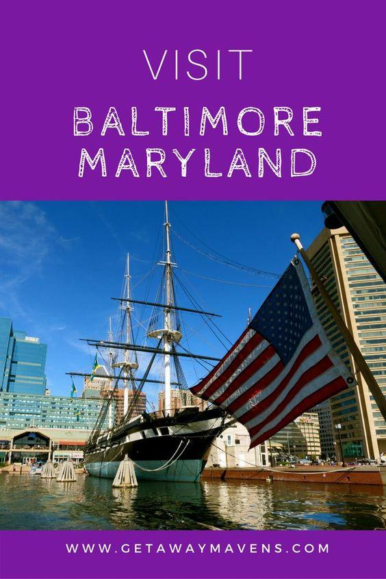 Baltimore pin