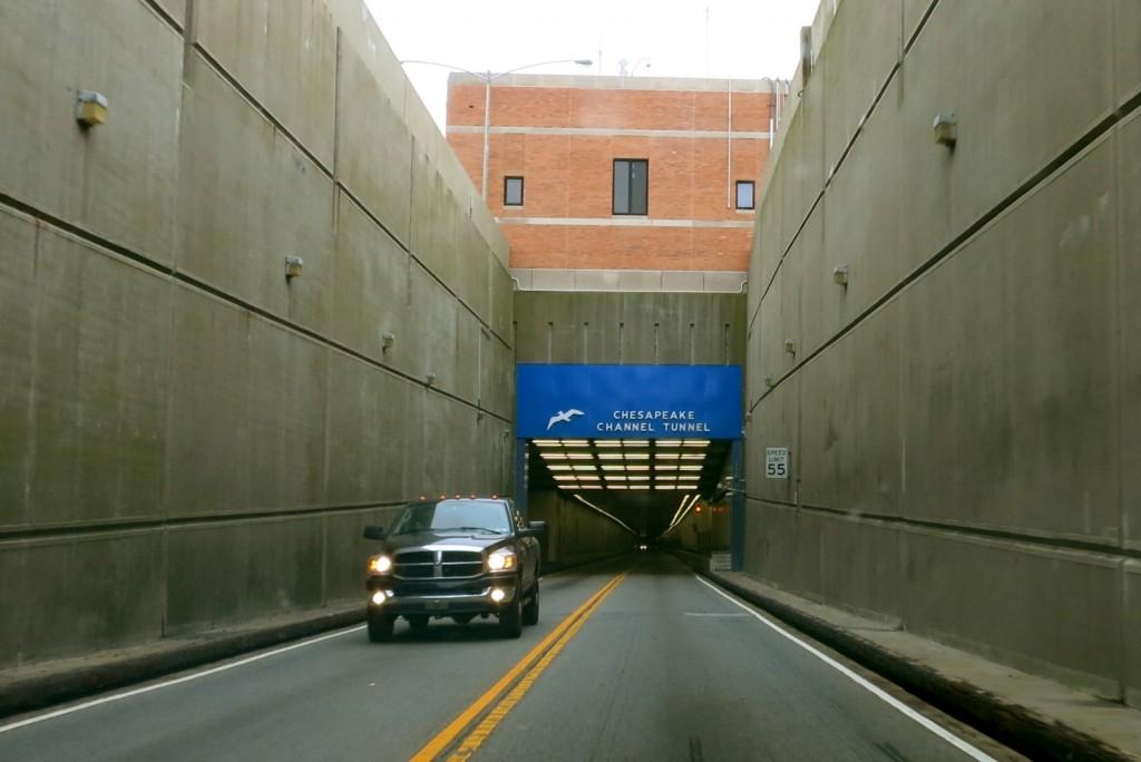 Chesapeake Bay Bridge and Tunnel from Cape Charles VA to Virginia Beach VA