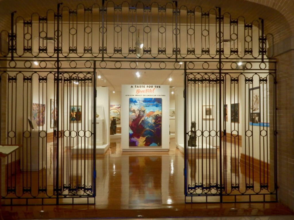 Hampton University Art Museum entrance VA