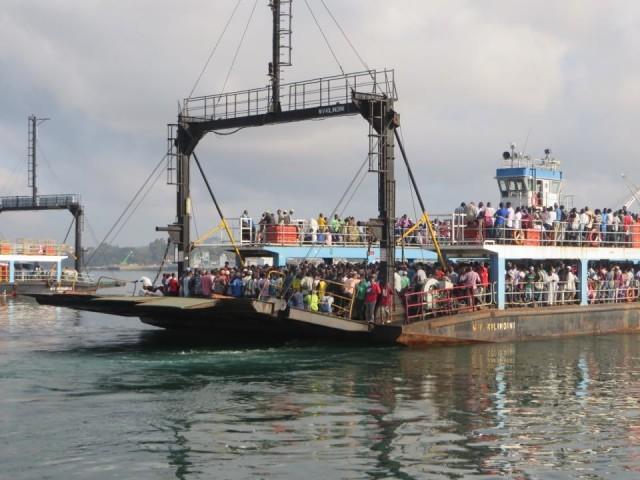 Ferry to Mombassa Kenya