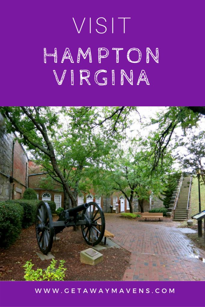 Hampton VA pin