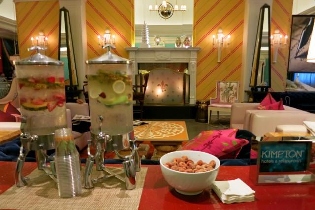 Lobby, Hotel Monaco, Philadelphia PA
