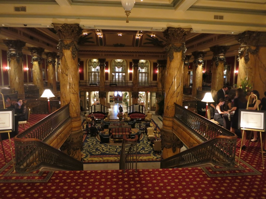 Jefferson Hotel Lobby, Richmond VA