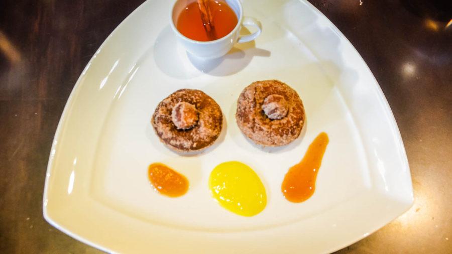 Warm Apple Cider Donuts - Markhams - Disney Golden Oak