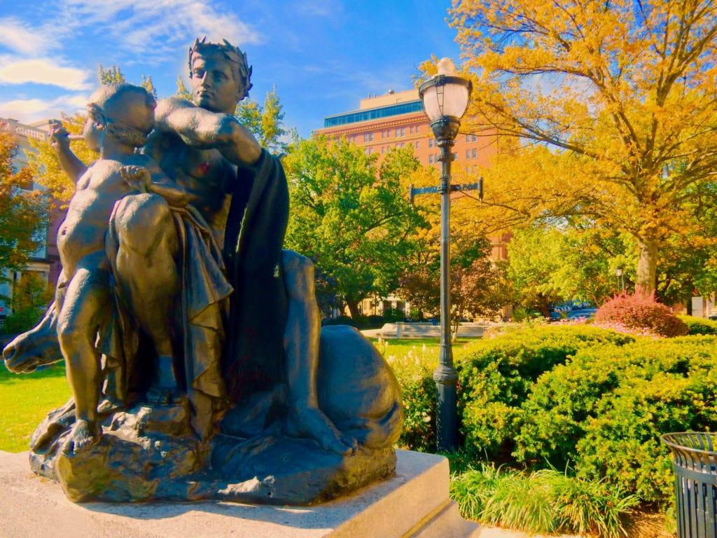 Mount Vernon Garden Baltimore MD