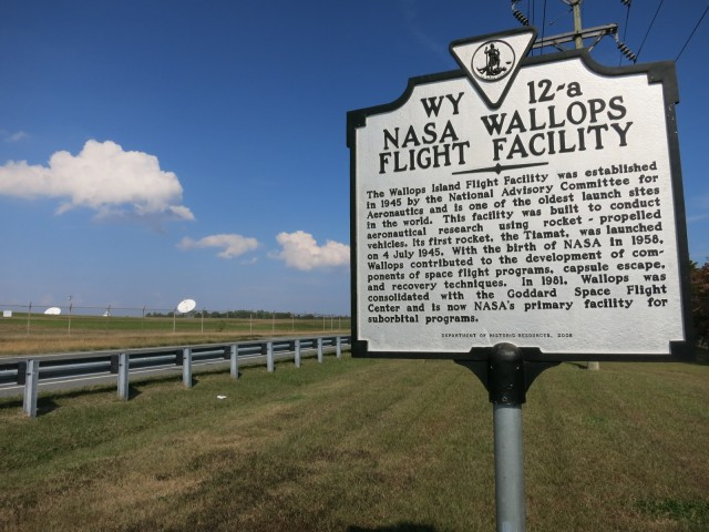 NASA Wallops Flight Facility, Chincoteague VA
