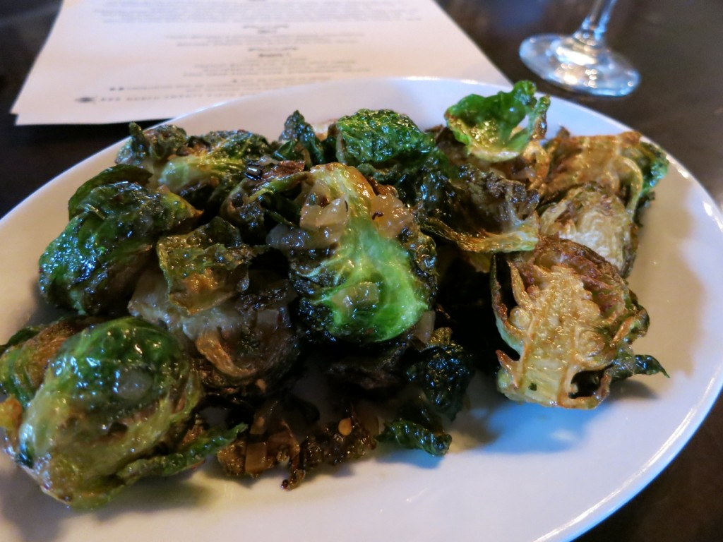 Roasted Brussels Sprouts, The Roosevelt Restaurant, Richmond VA
