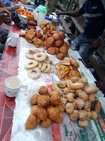 Street Food Sweets, Mombassa, Kenya