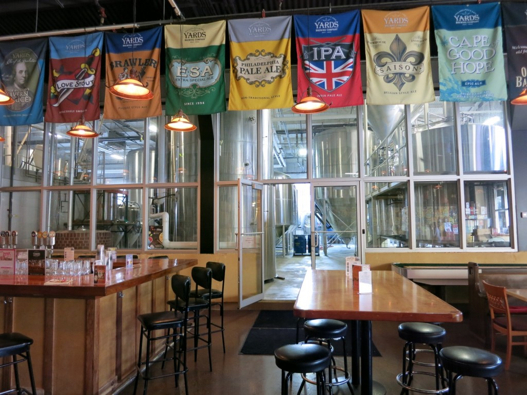 Yard's Brewing Company, Philadelphia PA