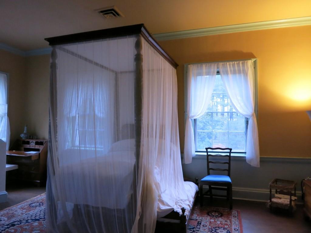 Original 4-poster and trundle bed at Ker House, Onancock VA