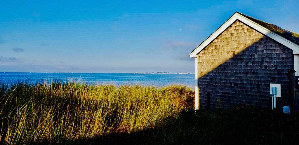 N. Truro beachfront scene Cape Cod MA