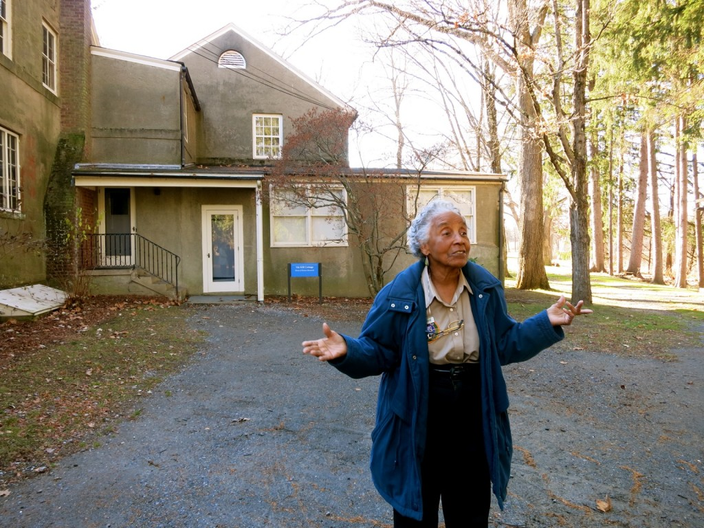 Doris Mack, Guide, Val Kill, Eleanor Roosevelt Home, Hyde Park NY