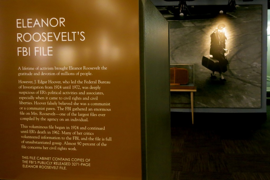 Eleanor Roosevelt Exhibit, FDR Museum, Hyde Park NY
