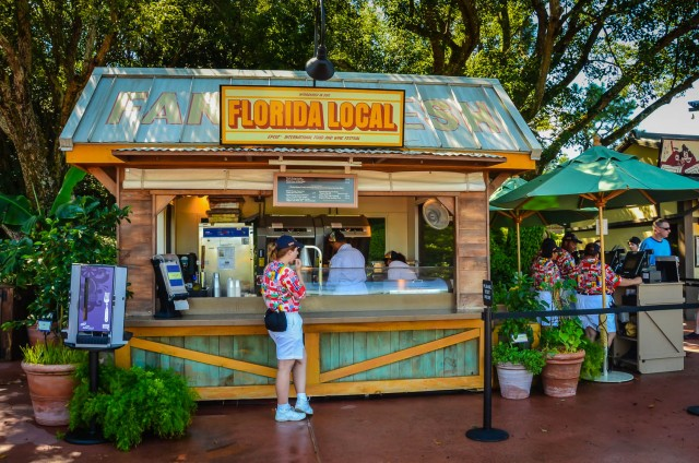 Florida Local Booth | Epcot Food and Wine Festival