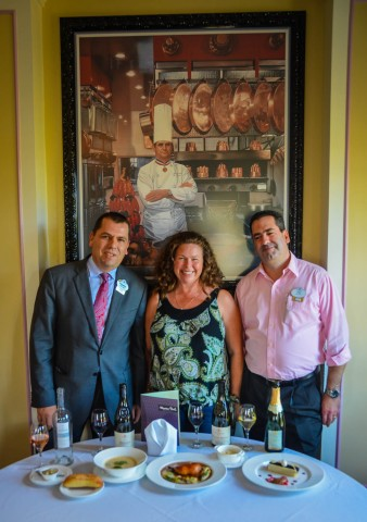 Jerry McVey-Sandra Foyt - Francesco Santin | French Regional Lunch | Epcot International Food & Wine Festival
