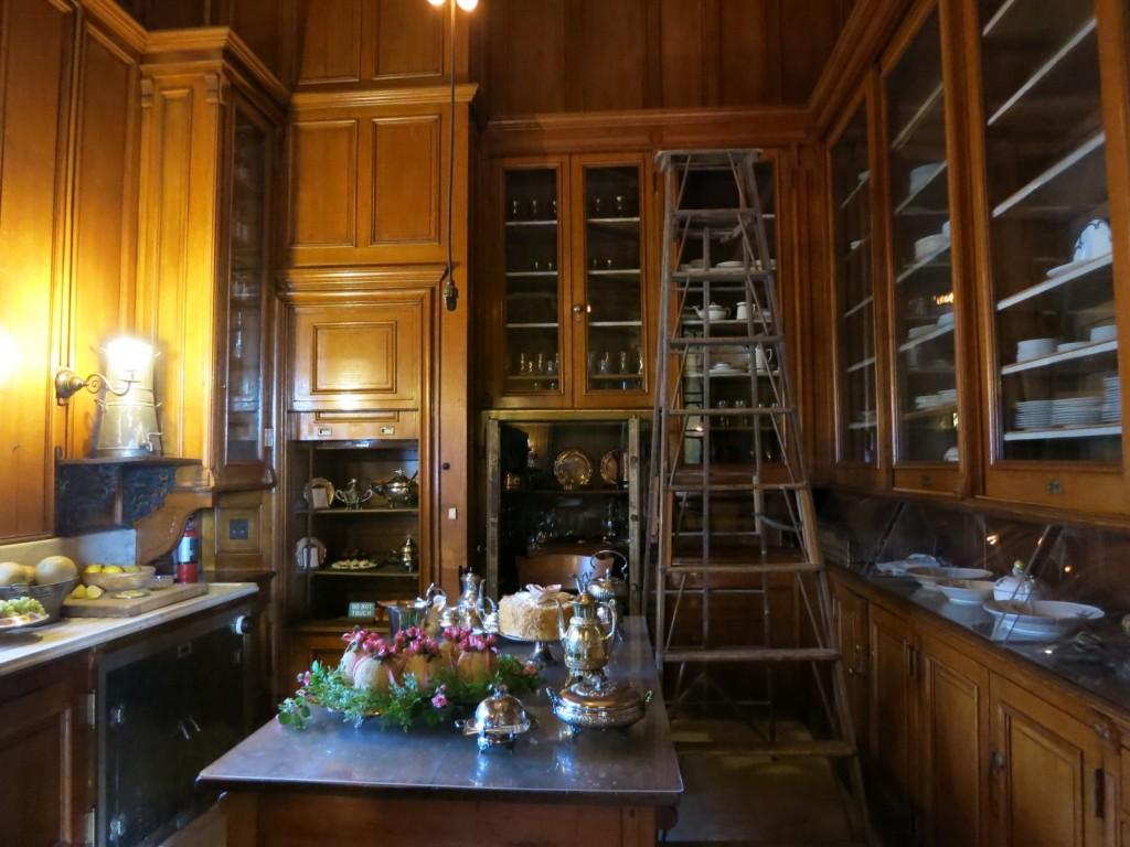 Butler's Pantry at Straatsburgh Mansion, Straatsburgh NY