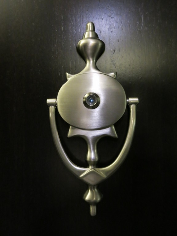 WestHouse Hotel NYC Guestroom Door Knocker