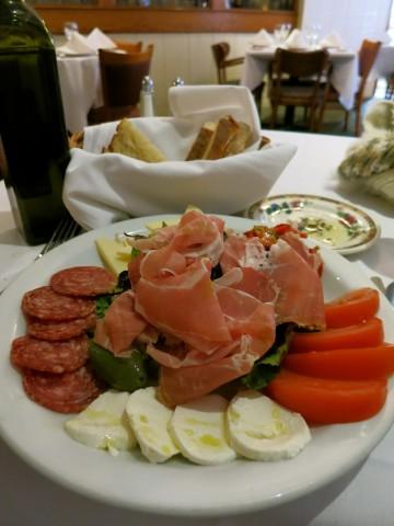 Marianacci's Restaurant, Antipasto, Port Chester, NY