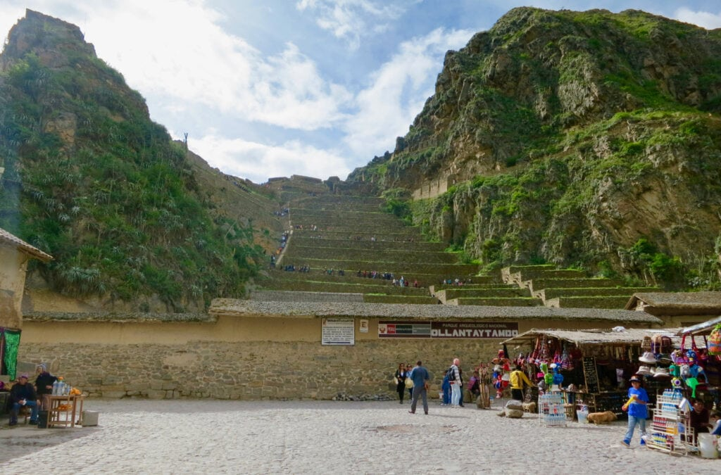 Ollantaytambo Sacred Vally Peru
