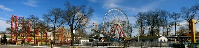 Rye Playland rides, Rye, NY