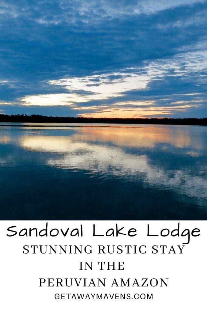 Sandoval Lake Lodge Pin