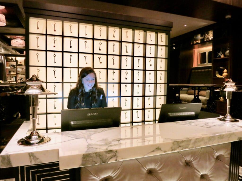 WestHouse Hotel Reception NYC