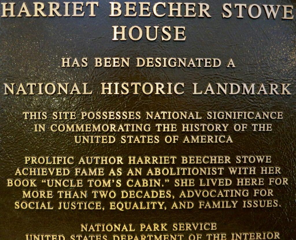 Harriet Beecher Stowe House National Historic Landmark