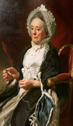 John Singleton Copley's 1780 Portrait of a Lady Wadsworth Antheneum Hartford CT