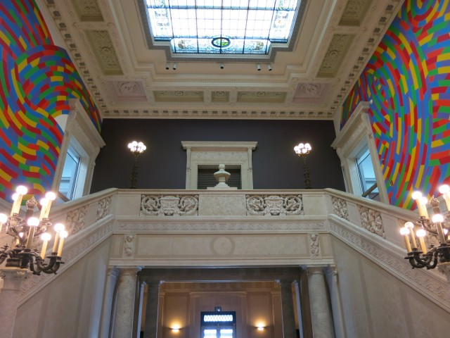 Sol LeWitt Murals, Wadsworth Antheneum, Hartford CT