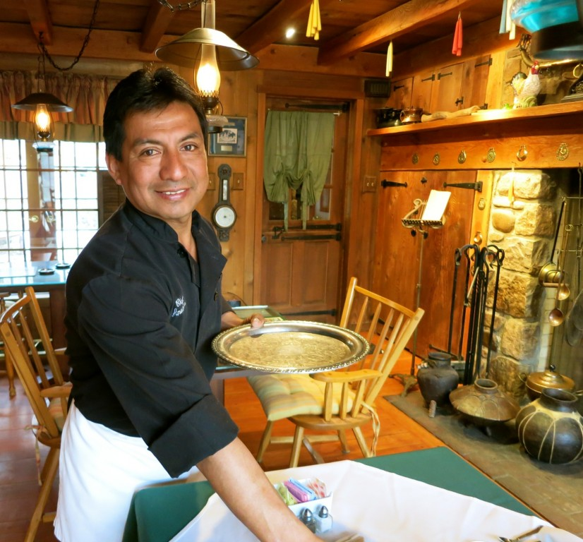 Anastacio Olivera, managerial assistant and chef, Inn at Bowman's Hill, New Hope PA