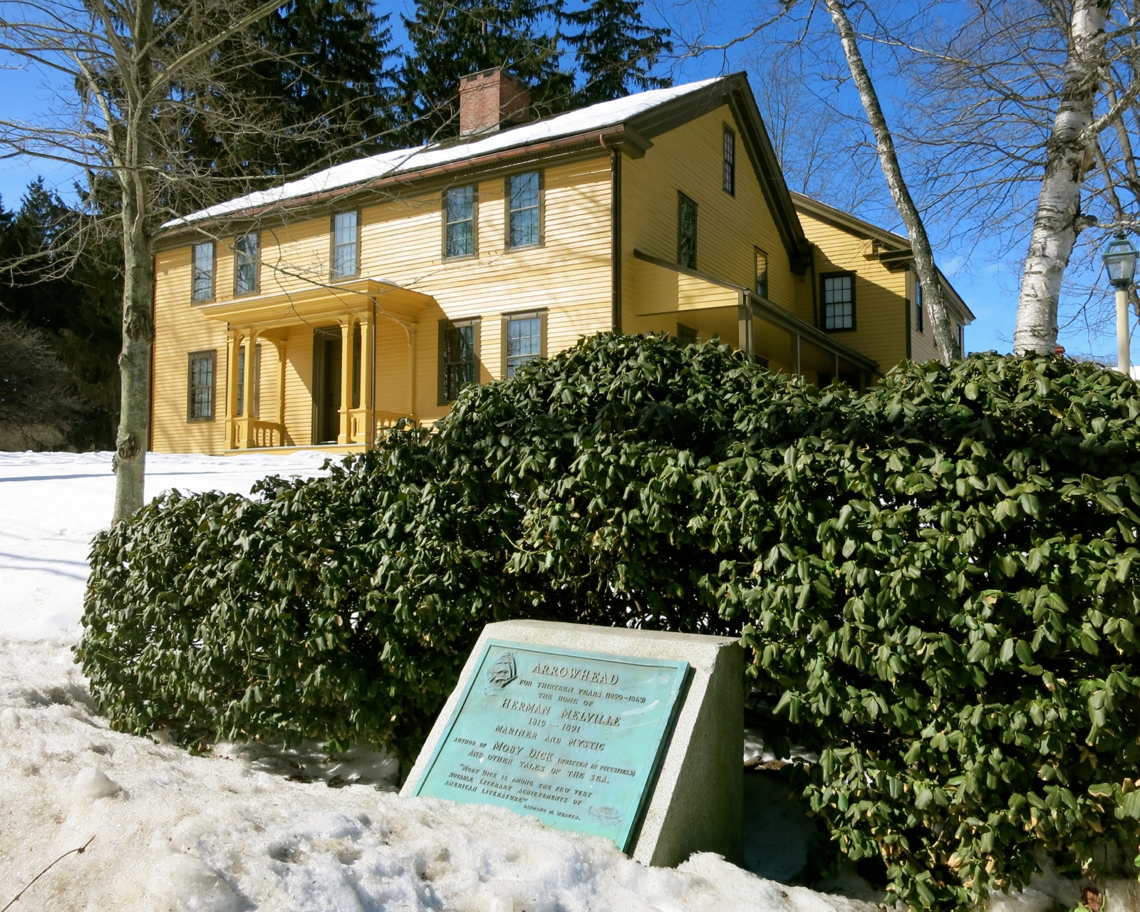 Arrowhead Herman Melville Pittsfield MA Tour Homes of Famous Authors