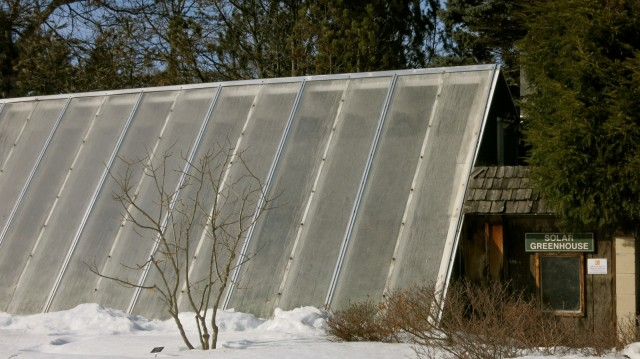 Solar Greenhouse, Berkshire MA Botanical Garden, Stockbridge MA