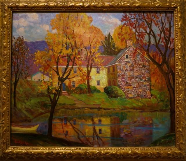 Fern Coppedge impressionist, James Mitchener Art Museum, Doylestown PA