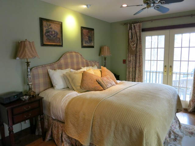 Guest room at Inn at Bowmans Hill, New Hope PA