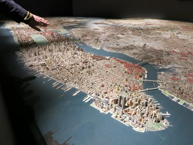 Queens Museum Panorama, Queens NY