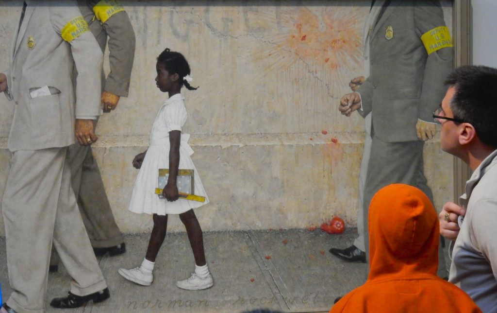 Ruby Bridges, Norman Rockwell Museum, Stockbridge MA