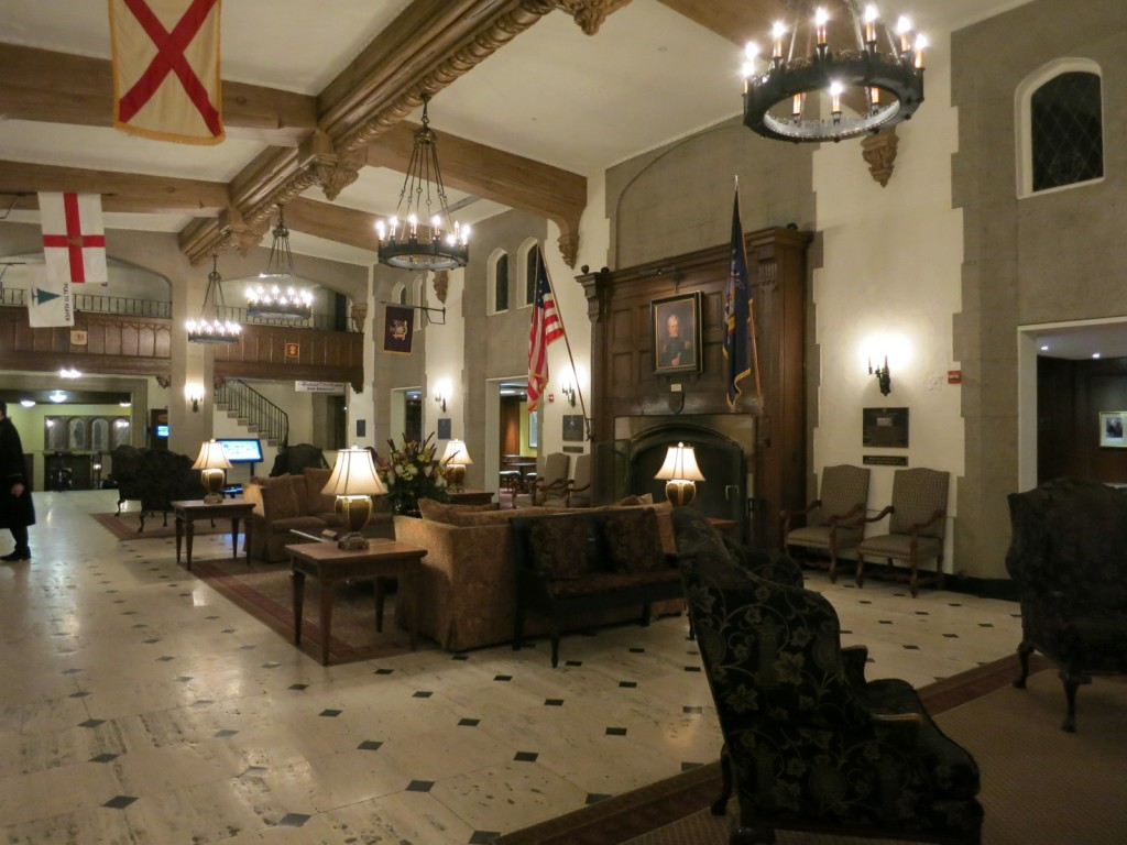 Thayer Hotel Lobby, West Point NY
