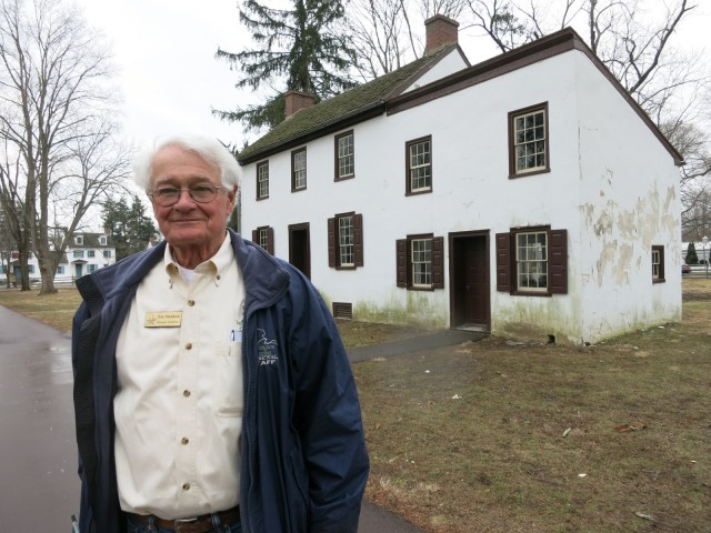Tom Maddock, Washington Crossing SP tour guide and former resident