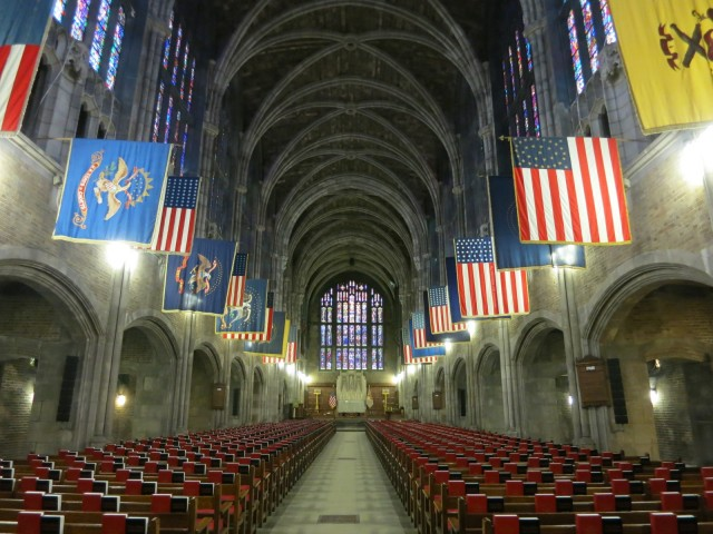 Cadet Chapel, West Point Military Academy, West Point NY