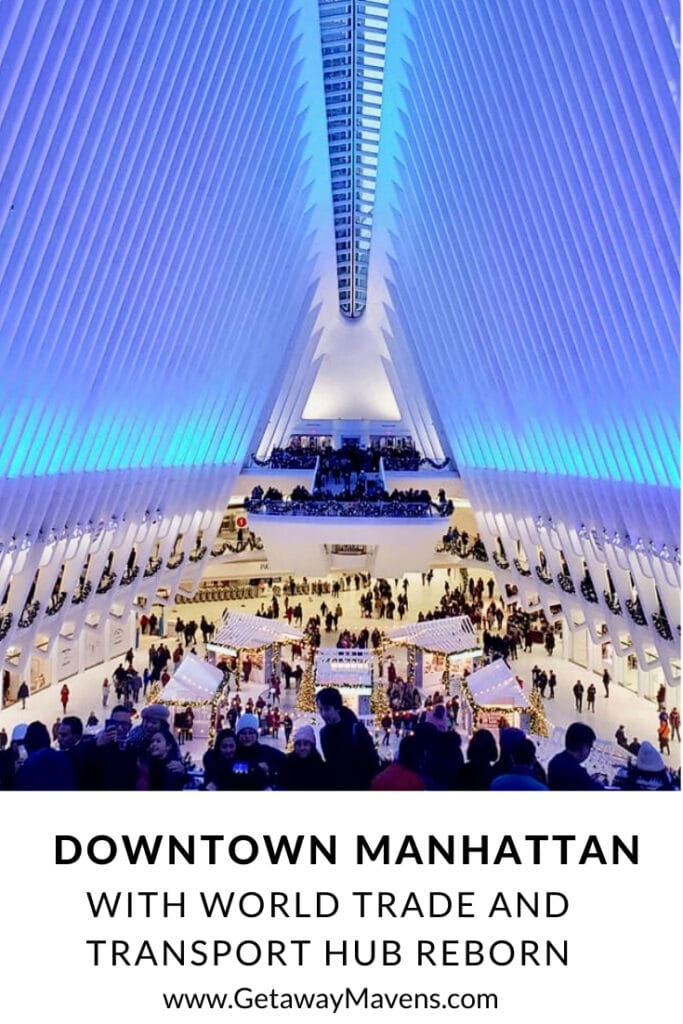 Downtown NYC Travel Guide Pin