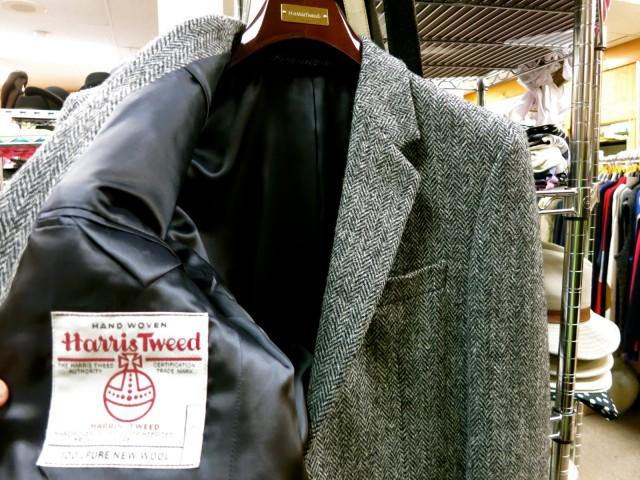 Harris Tweed, at Landau woolens specialty store, Princeton NJ