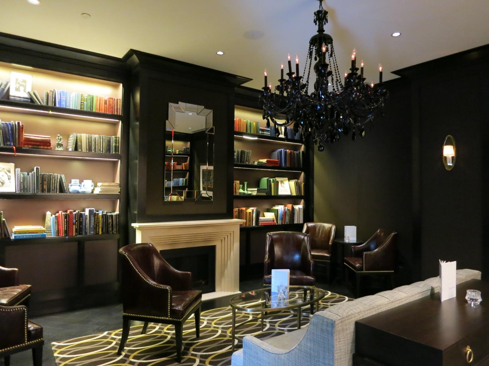 Library, Rittenhouse Hotel, Philadelphia PA